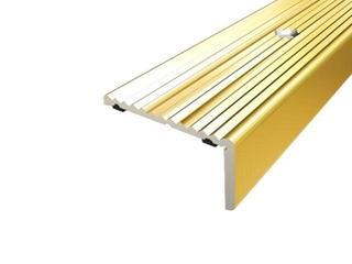 Listwa schodowa 40x20 ALU złoto 03 dł. 0,9m 1-06437-03-090 Aspro