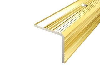 Listwa schodowa 35x35 ALU złoto 03 dł. 2,7m 1-07669-03-270 Aspro