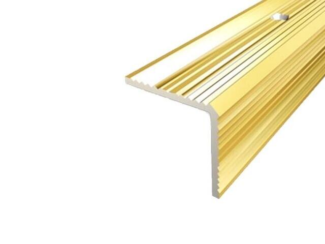 Listwa schodowa 30x30 ALU złoto 03 dł. 0,9m 1-09167-03-090 Aspro
