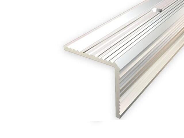 Listwa schodowa 30x30 ALU srebro 01 dł. 0,9m 1-09167-01-090 Aspro
