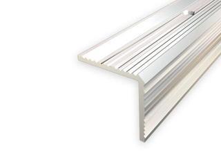 Listwa schodowa 30x30 ALU srebro 01 dł. 1,8m 1-09167-01-180 Aspro