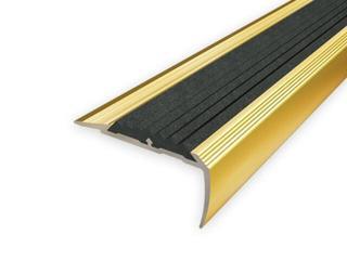 Listwa schodowa 40x20 ALU złoto 03 dł. 2,7m 1-09199-03-270 Aspro