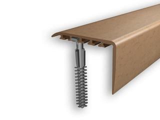 Listwa schodowa 45x22 PVC buk 0E dł. 1m D-K0100-0E-100 Myck