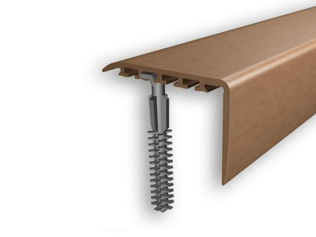 Listwa schodowa 45x22 PVC olcha 4E dł. 1m D-K0100-4E-100 Myck