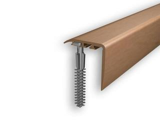 Listwa schodowa 30x30 PVC olcha 4E dł. 1m D-K0200-4E-100 Myck