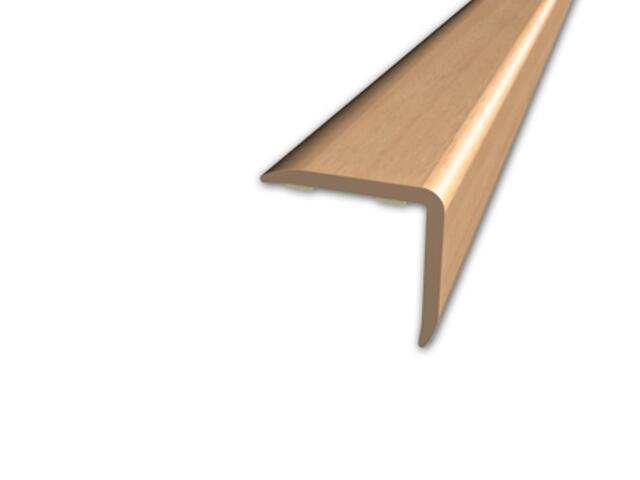 Listwa schodowa 20x20 PVC buk 0E dł. 1m D-K0500-0E-100 Myck