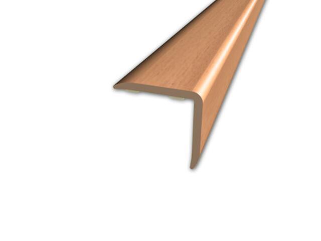 Listwa schodowa 20x20 PVC buk 1E dł. 1m D-K0500-1E-100 Myck