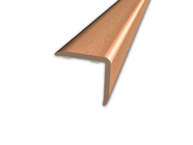 Listwa schodowa 20x20 PVC buk 1E dł. 2m D-K0500-1E-200 Myck