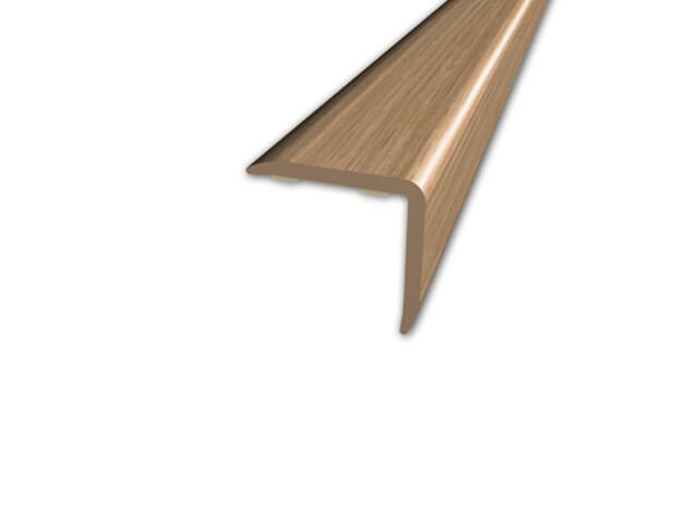 Listwa schodowa 20x20 PVC dąb 3E dł. 1m D-K0500-3E-100 Myck
