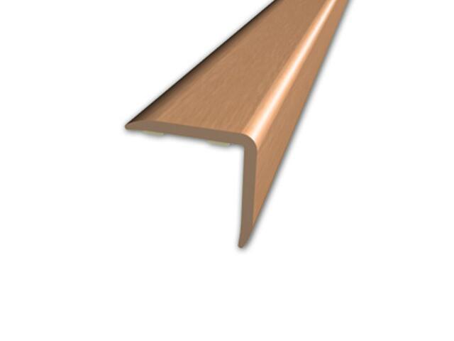 Listwa schodowa 20x20 PVC olcha 4E dł. 1m D-K0500-4E-100 Myck