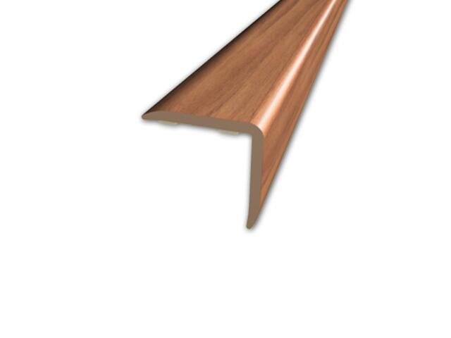 Listwa schodowa 20x20 PVC kasztan 6E dł. 1m D-K0500-6E-100 Myck