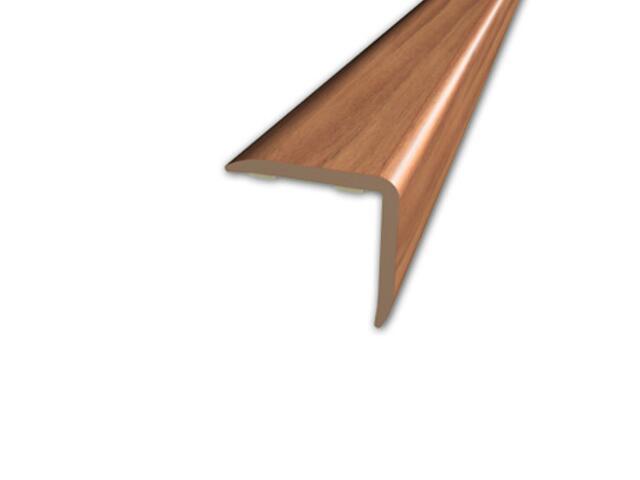 Listwa schodowa 20x20 PVC kasztan 6E dł. 2m D-K0500-6E-200 Myck
