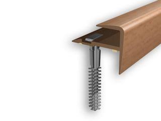 Listwa schodowa typ f PVC buk 1E dł. 1m D-K0600-1E-100 Myck