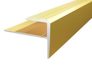 Listwa schodowa 16x23x8 ALU złoto 03 dł. 0,9m E-E0500-03-090 Borck