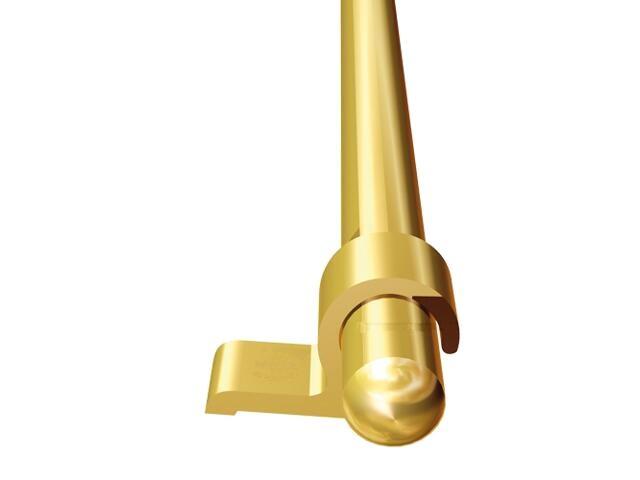 Pręt schodowy fi10 ALU złoto 03 dł. 1m E-E1000-03-100 Borck