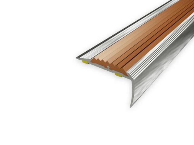 Listwa schodowa 40x20 ALU aluminium P0 dł. 0,9m 1-09399-P0-090 Aspro
