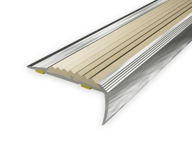 Listwa schodowa 40x20 ALU aluminium P0 dł. 0,9m 1-09499-P0-090 Aspro