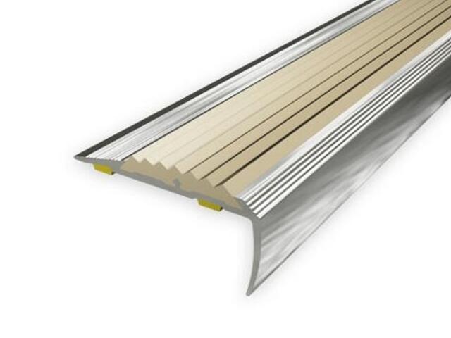 Listwa schodowa 40x20 ALU aluminium P0 dł. 2,7m 1-09499-P0-270 Aspro