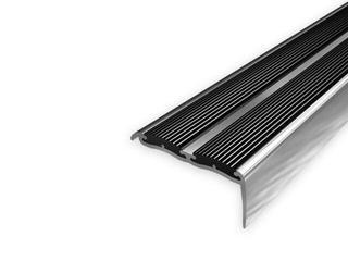 Listwa schodowa 48x18 ALU aluminium P0 dł. 0,9m 1-09188-P0-090 Aspro
