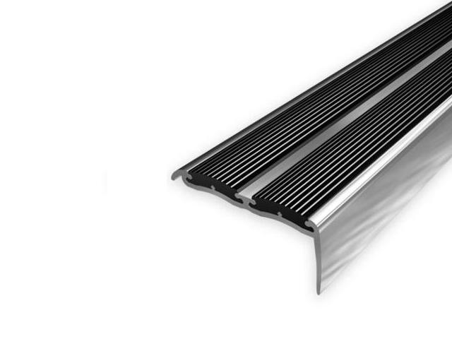 Listwa schodowa 48x18 ALU aluminium P0 dł. 2,7m 1-09188-P0-270 Aspro
