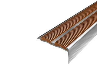 Listwa schodowa 48x18 ALU aluminium P0 dł. 0,9m 1-09388-P0-090 Aspro