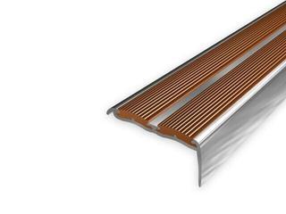 Listwa schodowa 48x18 ALU aluminium P0 dł. 2,7m 1-09388-P0-270 Aspro