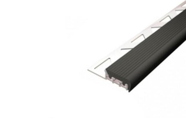 Listwa schodowa 25x8 ALU surowe dł. 2,5m 1-09177-00-250 Aspro