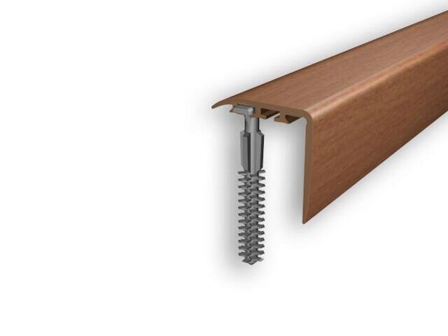 Listwa schodowa 25x25 PVC czereśnia 8E dł. 1m D-K0300-8E-100 Myck