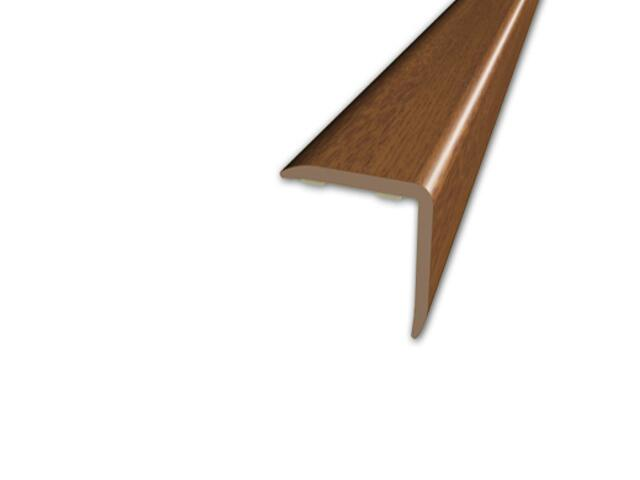 Listwa schodowa 20x20 PVC orzech 9E dł. 1m D-K0500-9E-100 Myck