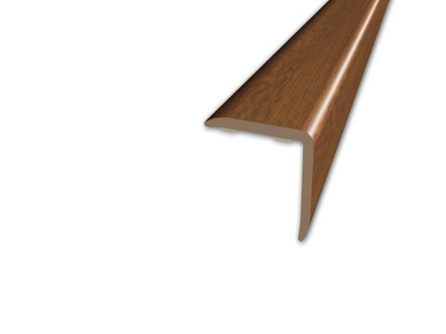 Listwa schodowa 20x20 PVC orzech 9E dł. 2m D-K0500-9E-200 Myck