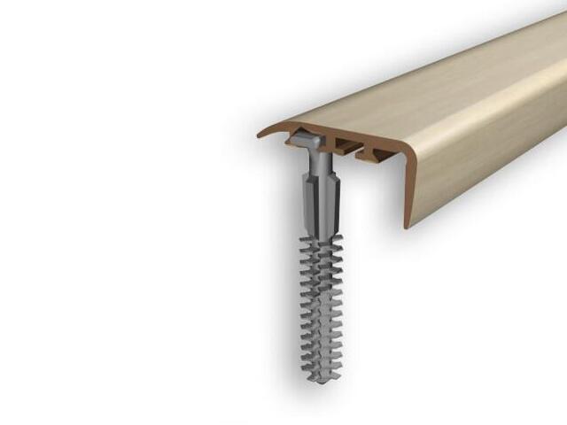Listwa schodowa 30x14 PVC klon 16 dł. 2m D-K0400-16-200 Myck