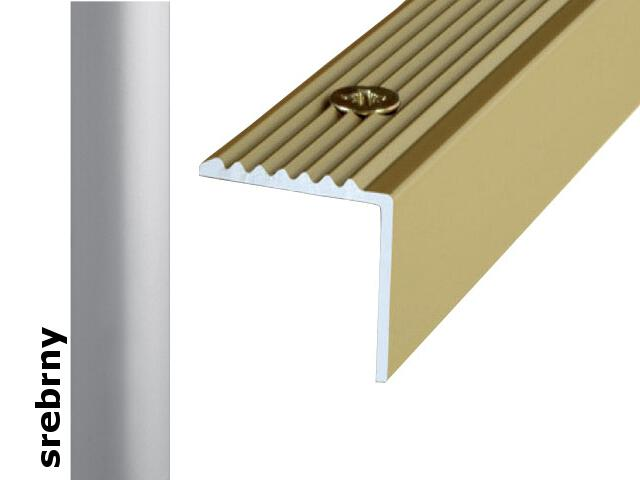 Listwa schodowa Effect Standard A30 srebro 120cm Effector