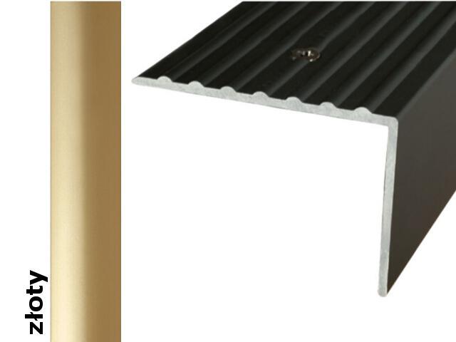 Listwa schodowa Effect Standard A32 złoto 120cm Effector