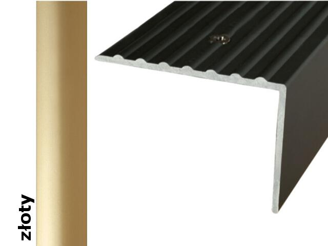 Listwa schodowa Effect Standard A32 złoto 360cm Effector