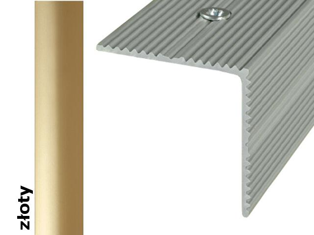Listwa schodowa Effect Standard A34 złoto 360cm Effector