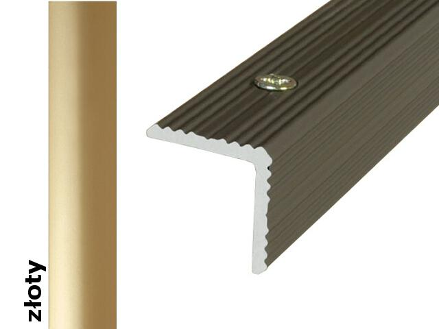 Listwa schodowa Effect Standard A35 złoto 120cm Effector
