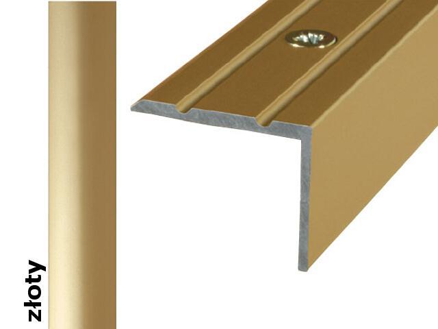 Listwa schodowa Effect Standard A36 złoto 360cm Effector