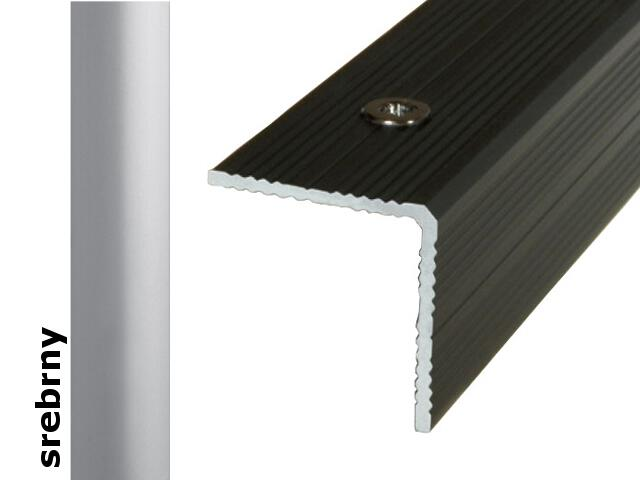 Listwa schodowa Effect Standard A40 srebro 360cm Effector