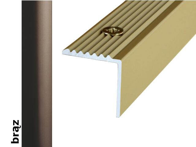 Listwa schodowa Effect Standard A30 brąz 360cm Effector