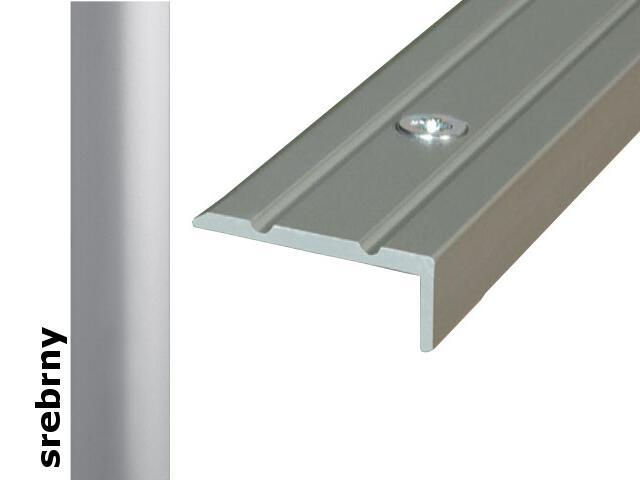 Listwa schodowa Effect Standard A31 srebro 180cm Effector