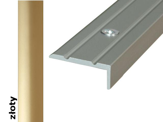 Listwa schodowa Effect Standard A31 złoto 270cm Effector