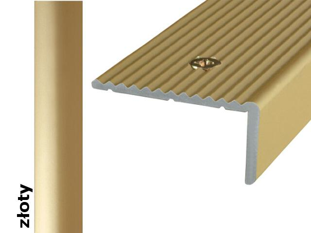 Listwa schodowa Effect Standard A33 złoto 180cm Effector