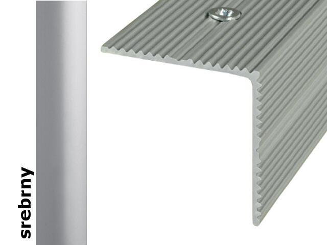 Listwa schodowa Effect Standard A34 srebro 180cm Effector