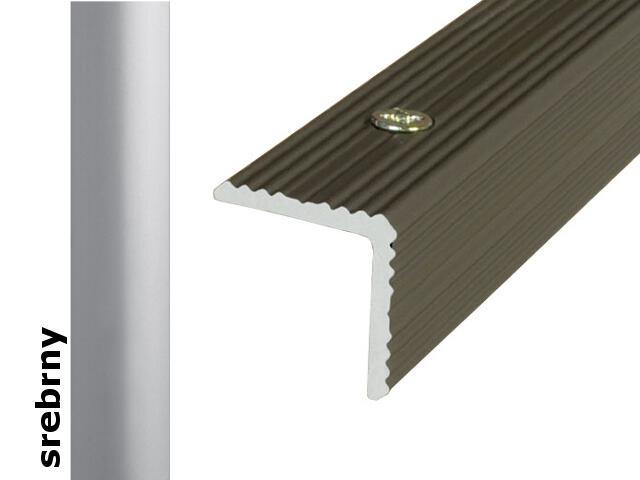 Listwa schodowa Effect Standard A35 srebro 180cm Effector