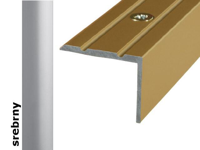 Listwa schodowa Effect Standard A36 srebro 180cm Effector