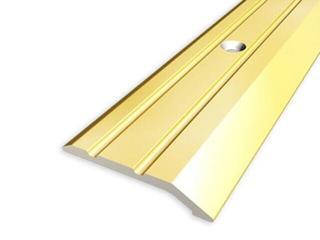 Listwa zakończeniowa 30mm ALU złoto 03 dł. 1,8m 1-06226-03-180 Aspro