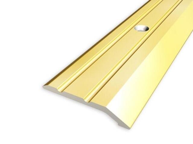 Listwa zakończeniowa 30mm ALU złoto 03 dł. 2,7m 1-06226-03-270 Aspro