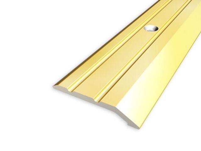 Listwa zakończeniowa 30mm ALU złoto 03 dł. 0,9m 1-06226-03-090 Aspro