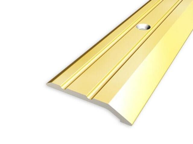 Listwa zakończeniowa 30mm ALU złoto 03 dł. 1,35m 1-06226-03-135 Aspro