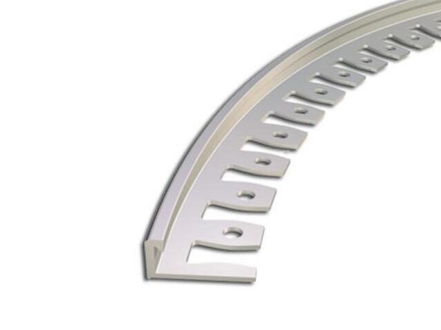 Listwa zakończeniowa 10mm ALU surowe dł. 2,5m 6-00617-00-250 Zic Zac